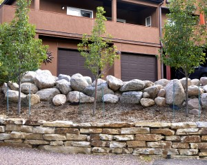 Retaining Walls by Colorado Stoneworks Landscaping in Colorado Springs, CO